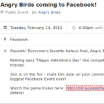 Angry Birds finally coming to Facebook on Valentines Day