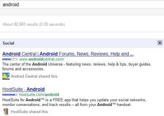 Google launches Social Search feature based on Google+