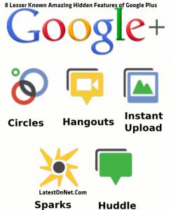 8 Lesser Known Amazing  Hidden Features Of Google Plus ~LatestOnNet.Com