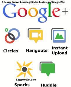 8 Lesser Known Amazing  Hidden Features Of Google Plus ~LatestOnNet.Com