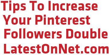 increase pinterest followers
