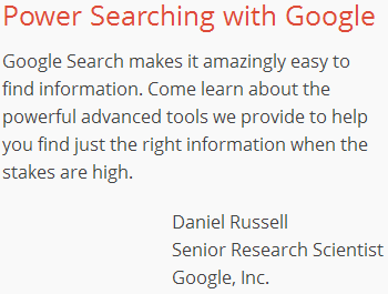 google-power-searching-class
