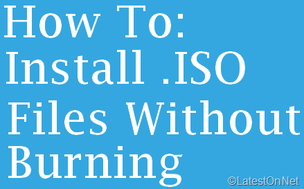 install-iso-files-without-burning