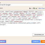 How to Lock And Unlock Widgets on Blogger