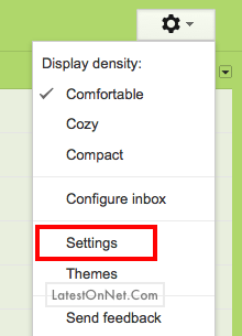 Settings-gmail-account