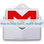 How To Undo Sent Email In Gmail?